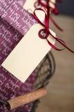 Bolsos del regalo en la fiesta de cumpleaños Imágenes de archivo libres de regalías