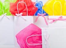 Bolsos del regalo para cualquie ocasión Fotos de archivo libres de regalías