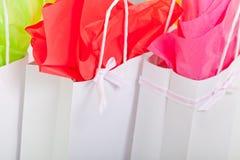 Bolsos del regalo para cualquie ocasión Imagen de archivo libre de regalías