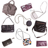 bolsos para las mujeres Fotos de archivo libres de regalías