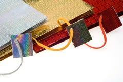 Bolsos para los regalos Imágenes de archivo libres de regalías