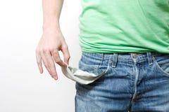 Bolsos vazios Foto de Stock Royalty Free