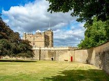 Bolsover城堡在德贝郡,英国,英国 免版税库存图片