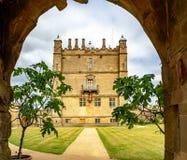 Bolsover城堡在德贝郡,英国,英国 库存照片