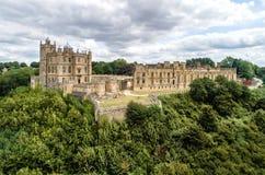 Bolsover城堡在诺丁汉郡,英国 库存照片