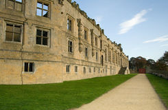 Bolsover Schloss Chesterfield Stockbild