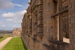Bolsover Schloss, Derbyshire Lizenzfreies Stockbild