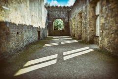 Bolsover-Schloss in Großbritannien Stockbild
