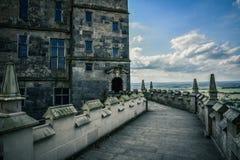 Bolsover-Schloss in Großbritannien Stockfotos