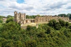 Bolsover-Schloss in Nottinghamshire, Großbritannien Stockbilder