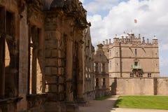 Bolsover slott, Derbyshire Arkivbild