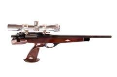 Bolt action pistol. Interesting modern looking bolt action pistol in .223 caliber Stock Images
