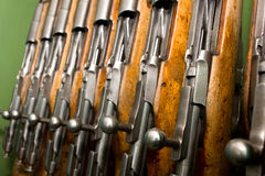 Bolt action rifle Royalty Free Stock Photos