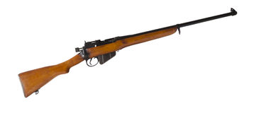 Bolt action rifle Stock Image