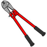 Bolt Cutters Stock Photography