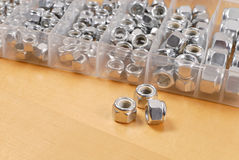Bolt Head Fasteners Royalty Free Stock Images
