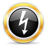bolt icon Stock Photography