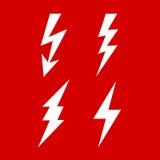 Bolt icon Stock Photo