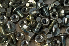 Bolt and nut Stock Photos