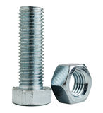 Bolt with nut Royalty Free Stock Image