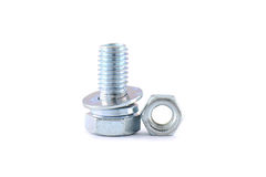 Bolt and nut Stock Photography