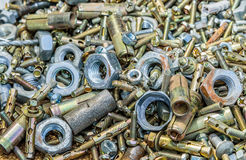 Bolt and nut and more Stock Photo