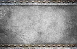 Bolt plate background gray Stock Photography