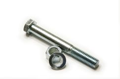 Bolt and Screw Nut Stock Image
