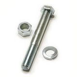 Bolt and screw nut Royalty Free Stock Image
