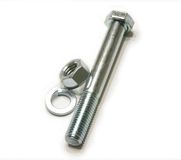 Bolt and screw nut Stock Photo