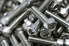 Bolt Screws Stock Photo