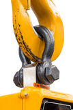 Bolt type anchor shackle stock image