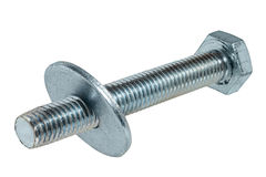 Bolt with washer Stock Photography