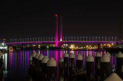 Bolte Bridge at Docklands in Melbourne Royalty Free Stock Photography