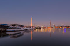 Bolte bridge, Melbourne at dawn Royalty Free Stock Image