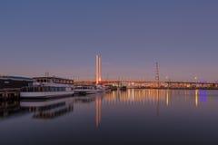 Bolte bridge, Melbourne at dawn Royalty Free Stock Image
