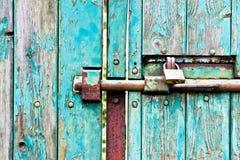 bolted gate Στοκ Εικόνες