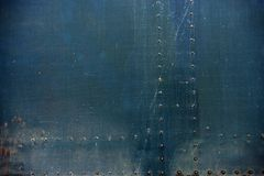 Bolted Metal Background Royalty Free Stock Image