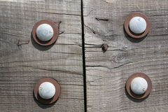 Bolted Wood Stock Photos