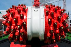 Bolter άνθρακα μηχανή ανθρακωρύχων στοκ φωτογραφίες με δικαίωμα ελεύθερης χρήσης