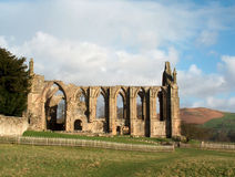 Bolton Abbey. In Yorkshire - side view Royalty Free Stock Photography