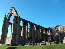 Bolton Abbey. Ruins of Bolton Abbey Stock Images