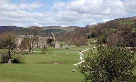 Bolton Abbey. Yorkshire Stock Image