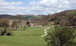 Bolton Abbey. Yorkshire stock image