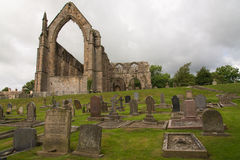 Bolton Abbey. Is an Augustinian monastery in the Yorkshire Stock Photo