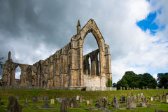 Bolton Abbey. Is an Augustinian monastery in the Yorkshire Royalty Free Stock Photography