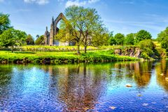 Free Bolton Abbey In Yorkshire Dales, Great Britain. Royalty Free Stock Image - 141603846