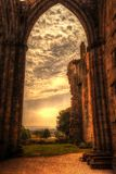 Bolton Abbey in North Yorkshire. stock images