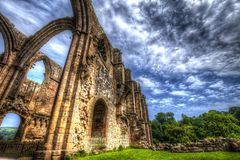 Bolton Abbey in North Yorkshire. royalty free stock photos