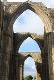 Bolton Abbey Ruins image stock